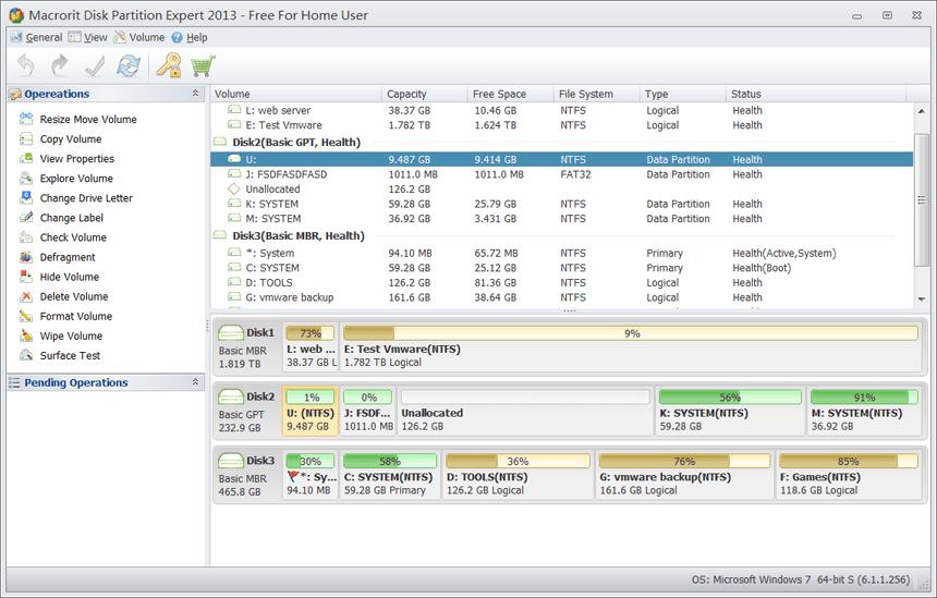 Macrorit Disk Partition Expert 5.3