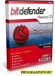 Bitdefender Rescue CD soft