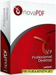 NovaPDF Pro 9.1.232